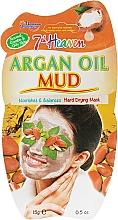 Духи, Парфюмерия, косметика Грязевая маска - 7th Heaven 24H Argan Oil Mud Mask