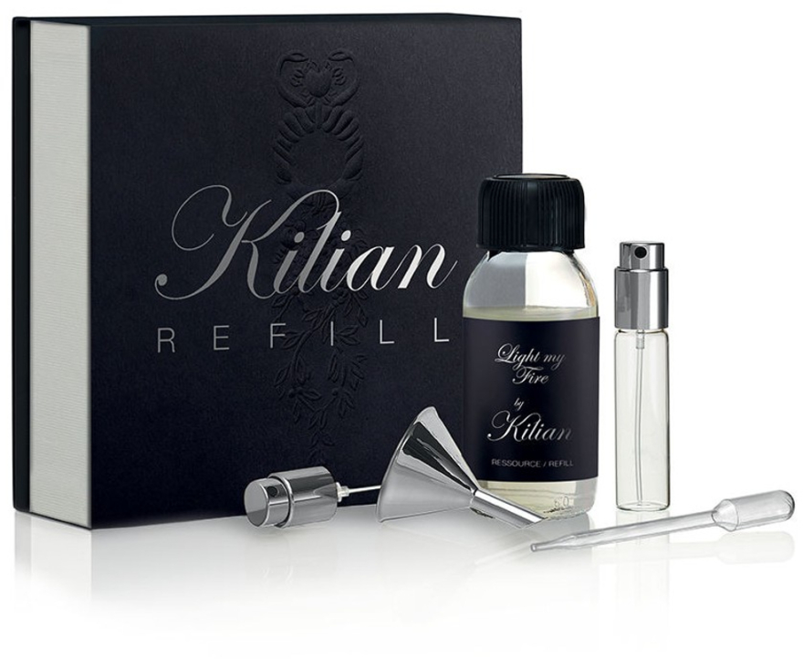 Kilian Light My Fire - Набор (refill/50ml + funnel + dropper + vial/7.5ml + spray)