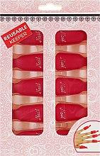 Духи, Парфюмерия, косметика Клипсы для снятия гель-лака, красные - Avenir Cosmetics