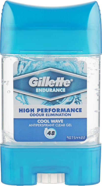 Дезодорант-антиперспирант гелевый - Gillette 3xSistem Cool Wave Anti-Perspirant Gel For Men