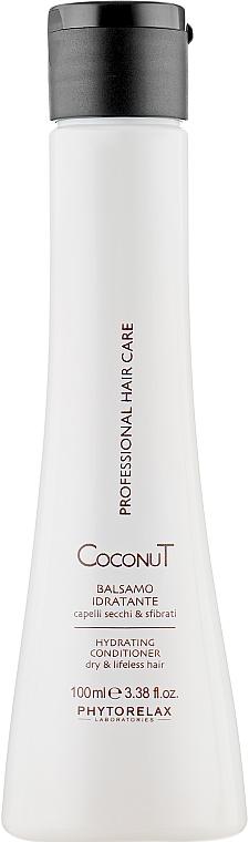 Увлажняющий кондиционер для волос - Phytorelax Laboratories Coconut Hydrating Conditioner