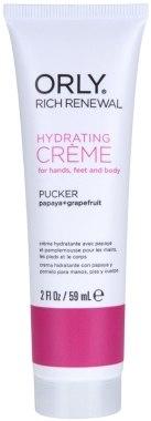 Увлажняющий крем для рук, ног и тела с ароматом папайи и красного грейпфрута - Orly Rich Renewal Pucker Hydrating Creme
