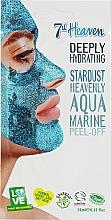 Духи, Парфюмерия, косметика Голубая маска-пленка для лица - 7th Heaven Stardust Heavenly Aqua Marine Peel-Off Coconut & Clay Mask