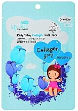 Духи, Парфюмерия, косметика Увлажняющая тканевая маска с коллагеном - MJ Care Daily Dewy Collagen Mask Pack