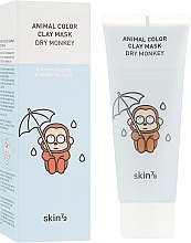 Духи, Парфюмерия, косметика Увлажняющая глиняная маска - Skin79 Animal Color Clay Mask Dry Monkey
