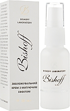 Духи, Парфюмерия, косметика Увлажняющий крем с матирующим эффектом - Bishoff