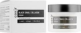 Духи, Парфюмерия, косметика Антивозрастной питательный крем для лица - Coxir Black Snail Collagen Cream Anti-Wrinkle And Nourish
