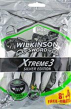 Духи, Парфюмерия, косметика Одноразовые станки, 8+4шт - Wilkinson Sword Xtreme 3 Silver Edition