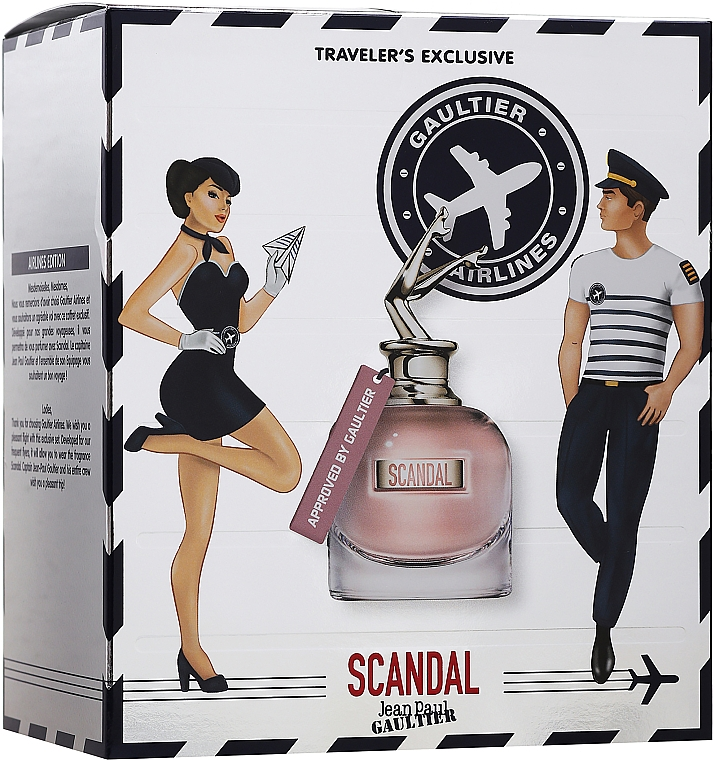 Jean Paul Gaultier Scandal - Набор (edp/80ml + edp/20ml)