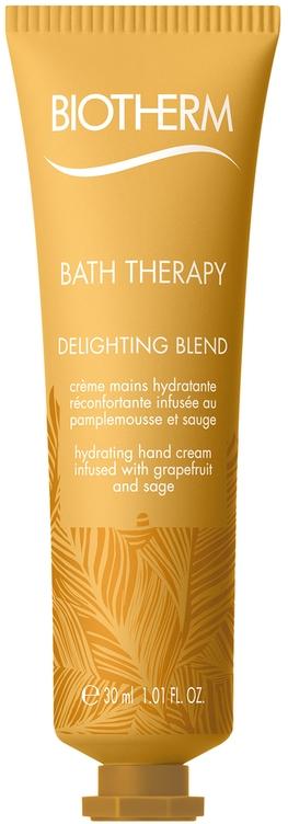 Увлажняющий крем для рук с экстрактом грейпфрута и шалфея - Biotherm Bath Therapy Delighting Blend Hand Cream