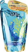 Духи, Парфюмерия, косметика Шампунь-ополаскиватель 2 в 1 с экстрактом морских водорослей и протеином жемчуга - Kanebo Umi No Uruoi Sou (сменный блок)