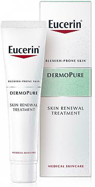 Крем для комплексной коррекции проблемной кожи - Eucerin DermoPurifyer Oil Control Skin Renewal Treatment