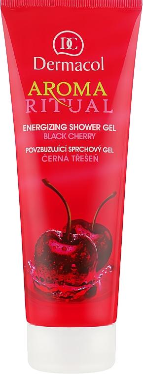 """Гель для душа пробуждающий """"Черная черешня"""" - Dermacol Body Aroma Ritual Energizing Shower Gel"""