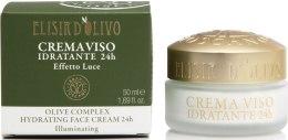 Духи, Парфюмерия, косметика РАСПРОДАЖА Крем для лица увлажняющий - Erbario Toscano Olive Complex Hydratating 24h Face Cream *
