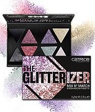 Духи, Парфюмерия, косметика Палетка теней - Catrice The Glitterizer Mix N' Match Eyeshadow Palette