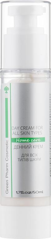 Дневной крем для лица - Green Pharm Cosmetic SPF 15 PH 5,5