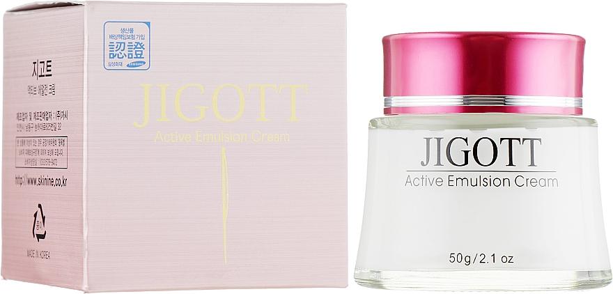 Крем для лица двойного действия - Jigott Active Emulsion Cream