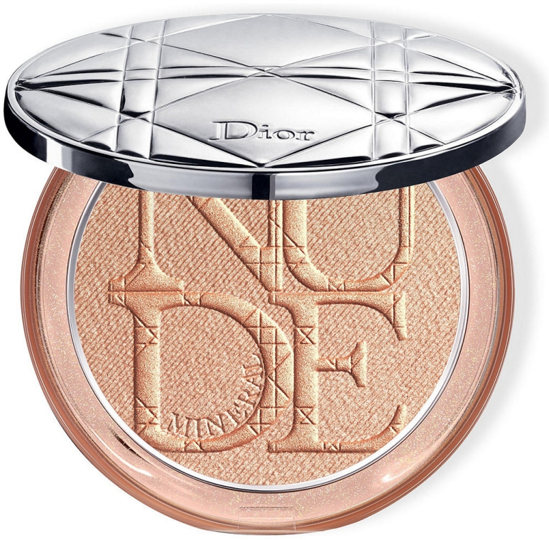 Осветляющая пудра для лица - Dior Diorskin Mineral Nude Luminizer Powder
