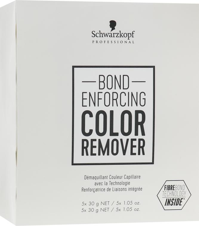 Средство для удаления искусственного пигмента с волос - Schwarzkopf Professional Bond Enforcing Color Remover