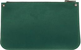 Духи, Парфюмерия, косметика Косметичка кожаная, зеленая - Bermud