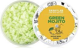 Духи, Парфюмерия, косметика Сахарный скраб для тела «Green Mojito» - SHAKYLAB Sugar Natural Body Scrub