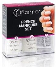 Духи, Парфюмерия, косметика Набор для французского маникюра №319 - Flormar French Manicure Set