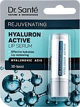 Духи, Парфюмерия, косметика Сыворотка для губ с гиалуроновой кислотой - Dr. Sante Hyaluron Active Rejuvenating Lip Serum