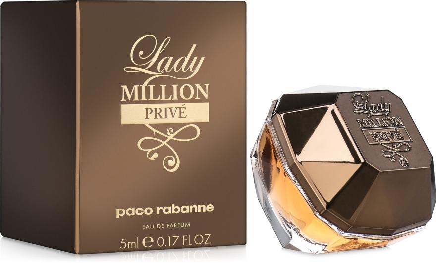 Paco Rabanne Lady Million Prive - Парфюмированная вода (мини)