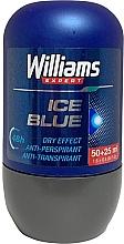 Духи, Парфюмерия, косметика Шариковый дезодорант - Williams Expert Ice Blue Roll-On Anti-Perspirant