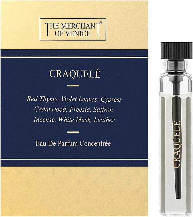 The Merchant Of Venice Craquele - Парфюмированная вода (пробник)
