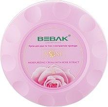 Духи, Парфюмерия, косметика Крем для рук и тела с экстрактом розы - Bebak Laboratories Moisturizing Cream With Rose Extract Hand&Body