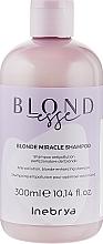 Духи, Парфюмерия, косметика Шампунь для оттенков блонд - Inebrya Blondesse Blonde Miracle Shampoo