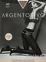 """Духи, Парфюмерия, косметика Колготки """"Model Top"""" 40 DEN, cognac - Argentovivo"""