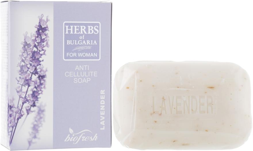 "Антицеллюлитное мыло ""Лаванда"" - BioFresh Herbs of Bulgaria Anti Cellulite Soap Lavender"