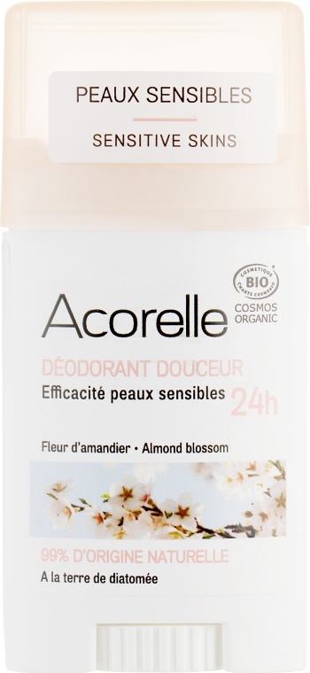 Дезодорант-стик - Acorelle Deodorant Stick Gel Almond Blossom