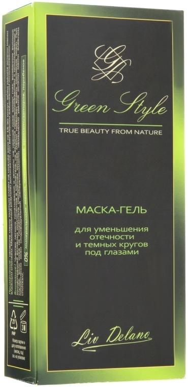 Маска-гель для уменьшения отечности и темных кругов под глазами - Liv Delano Green Style Mask — фото N3