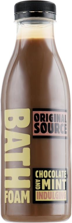 "Пена для ванны ""Шоколад и мята"" - Original Source Chocolate&Mint Bath Foam"