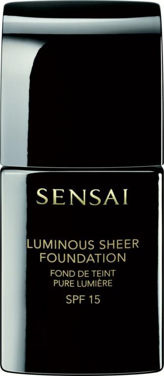 Тональная основа с эффектом сияния - Kanebo Sensai Luminous Sheer