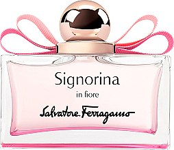 Духи, Парфюмерия, косметика Salvatore Ferragamo Signorina In Fiore - Туалетная вода (тестер без крышечки)