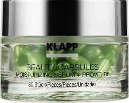 Духи, Парфюмерия, косметика Капсулы красоты с увлажняющей сывороткой для лица - Klapp Beauty Capsules Moisturizing Serum + ProVitamin B5