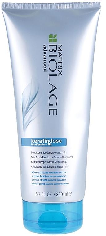 Укрепляющий кондиционер для поврежденных волос - Biolage Keratindose Pro Keratin Conditioner