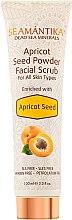 Духи, Парфюмерия, косметика Абрикосовый скраб для лица для всех типов кожи - Seamantika Apricot Seed Powder Facial Scrub Apricot Seed
