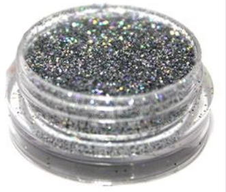 Песок для ногтей голографик, 0,19мм - Tufi Profi