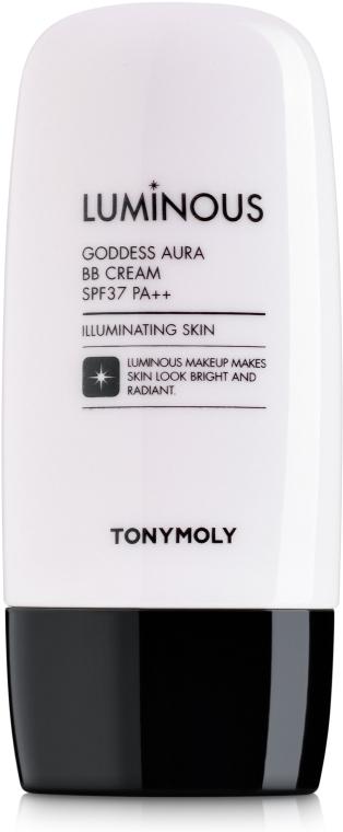 ВВ-крем с эффектом сияния - Tony Moly Luminous Goddess Aura Blur BB