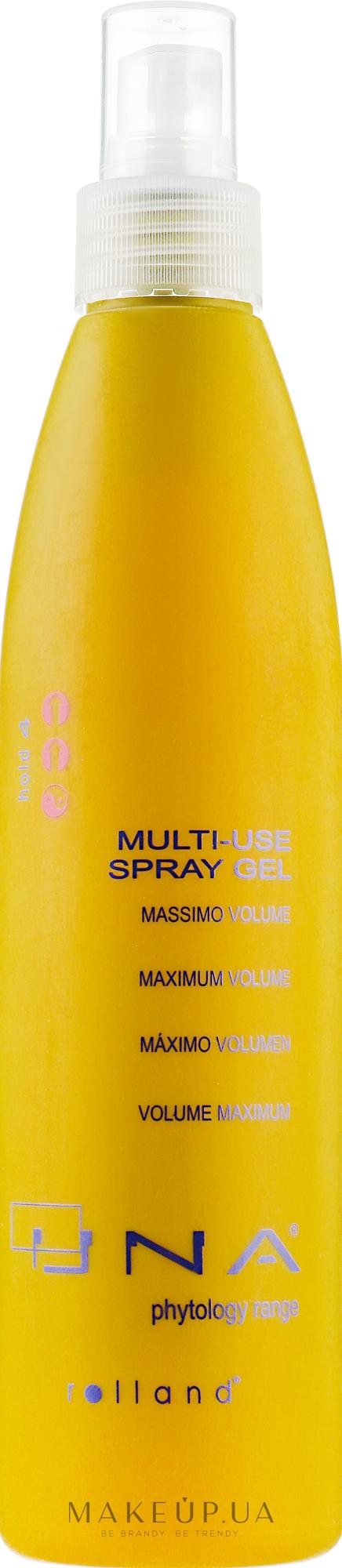 Мультифункціональний гель для укладання волосся - Rolland Una Multi-Use Spray Gel — фото 250ml