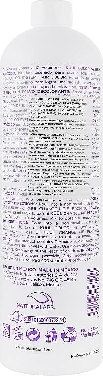 Окислювач 10Vol (3 %) - Kuul Color System Peroxide 10Vol — фото N4