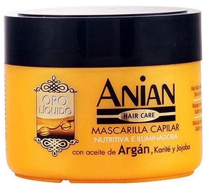 Аргановая маска для волос - Anian Liquid Gold Hair Argan Mask