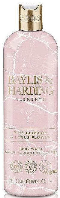 Гель для душа - Baylis & Harding Elements Pink Blossom & Lotus Flower Body Wash