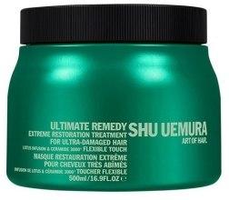 Духи, Парфюмерия, косметика Маска восстанавливающая для волос - Shu Uemura Art Of Hair Ultimate Remedy Extreme Restoration Treatment