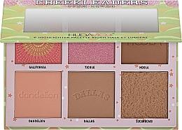 Духи, Парфюмерия, косметика Палетка для контуринга - Hudamoji Cheekleaders Pink Squad Palette